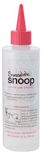 Snoop Leak 8OZ-SNOOP Snoop Leak Detector, 8 oz. from Snoop Leak