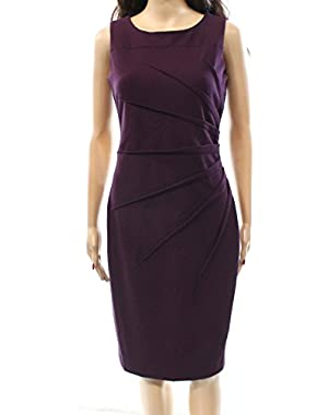 Calvin Klein Deep Purple Sleeveless Dress 8