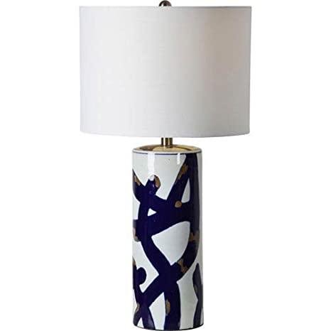 Merveilleux Renwil Cobalt Table Lamp In Blue And White