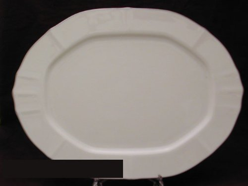 (Noritake Imperial Platinum Oval Platter, 14-inches)