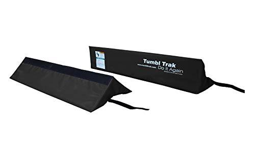 Tumbl Trak Air Barrel Cradles(Cradles Only), Black, 24in/30in (Barrel 24 Inch)