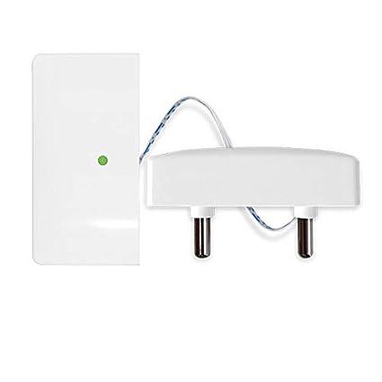 SODIAL Detector Sensor Inalámbrico de Fugas de Agua de Seguridad Sensor de Inundación de Agua 433