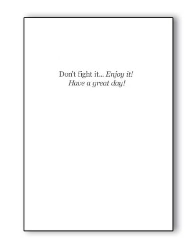 Gary Patterson Golf Greeting Card