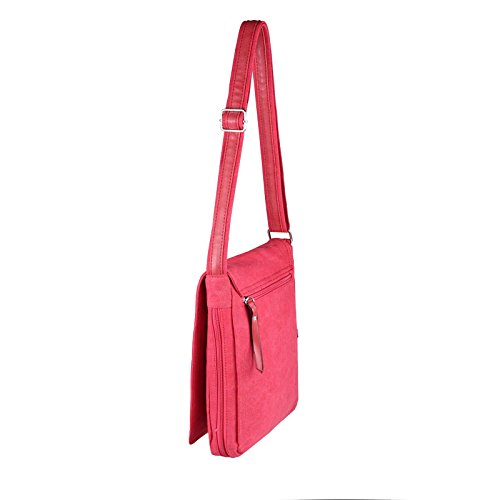 "Unisex Courierbag Star bolsa bolsa de lona bolsa de mensajero bolso de hombro cruzado hombro bolsa de tela verde Khaki 14.17""x11.81""x3.94"" Rojo coñac"
