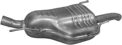 fits ZAFIRA 2.0 TD 2.2 TD MPV 101//125hp 2003-2005 ETS-EXHAUST 2311 Exhaust Rear Silencer