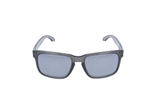 Smoke Smoke Holbrook Grey de Iridium soleil Iridium Black S3 Bl Grey Black Lunettes Oakley 1XAq8