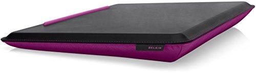 Belkin Cushdesk Kniekissen Unterlage (für Notebooks bis zu 46,7 cm (18,4 Zoll)) espresso/fuchsia