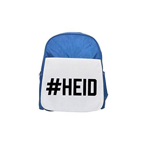 # Heidi Printed Kid 's Blue Backpack, Cute de mochilas, Cute Small de mochilas, Cute Black Backpack, Cool Black Backpack, Fashion de mochilas, large Fashion de mochilas, Black Fashion Backpack