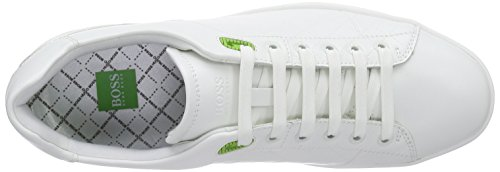 BOSS Green Ray Check 10189907 01 - Zapatillas Hombre Blanco (White 100)