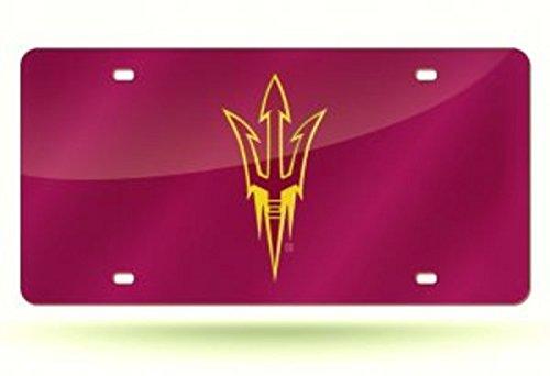 - Rico Industries ASU Arizona State Sun Devils Red Laser License Plate