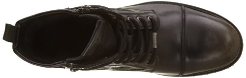 Pepe Jeans Melting Heritage New, Stivali Classici Uomo Marrone (Factory Blk)