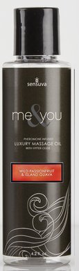 Me and You Massage Oil - Wild Passionfruit and Island Guava - 4.2 Oz. by sensuva
