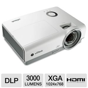 Vivitek D855ST XGA Short Throw DLP Projector
