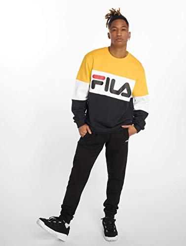 Blocked Nero Straight Sweater Fila Giallo 1qwPv54