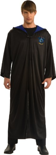 Ravenclaw Costumes For Adults - Harry Potter Adult Ravenclaw Robe, Black,