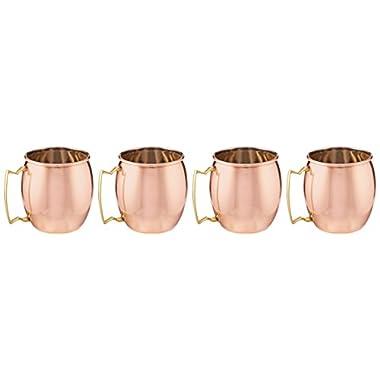 Old Dutch Hammered Copper Mule Mug 16 Ounce (Set of 4)