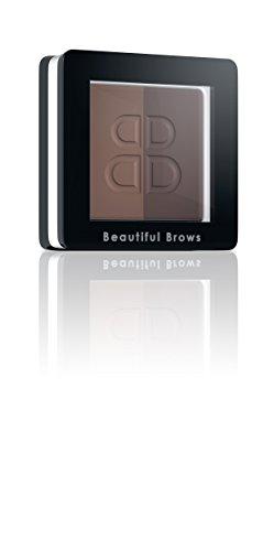 Duo Beautiful - Beautiful Brows Duo Refill Light Brown/Medium Brown Eyebrow Powder