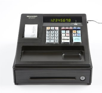 Sharp XEA107 Entry Level Cash Register with LED Display