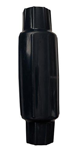 "Dock Edge Torpedo Pipe Bumper, 18"", PVC- Black"