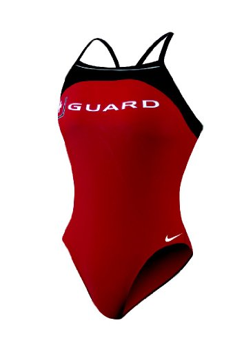Nike Guard Classic Lingerie Tank Swimsuit - Women's Size 42 Color VarsityRed