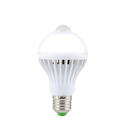 5W/7W/9W E27 LED PIR Infrared Motion Detection Sensor Light Bulb Smart Light Bulb Energy Saver (9W)