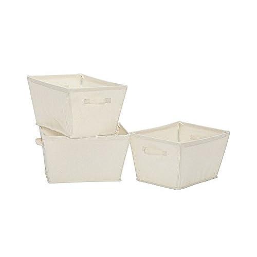 Collapsible Canvas Storage Bins Amazoncom