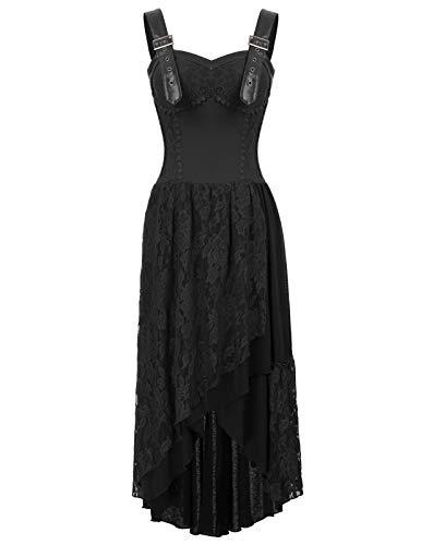 Poque boh Donna irregolare Dress Belle Vintage Stile Pizzo sdCBtrhxQ