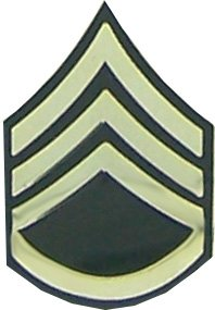 Amazon.com: US Army E-6 Staff Sergeant Rank Lapel Pin: Toys & Games