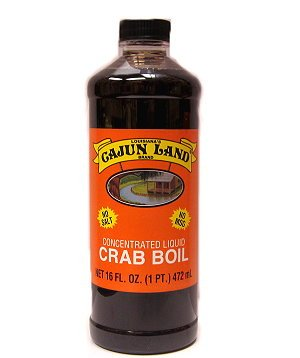 Cajun Land Concentrated Liquid Seafood Boil 16oz