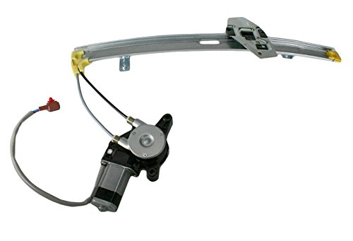 Power Window Regulator w/ Motor Rear RH Right Passenger Side for 90-93 Accord Honda Accord Right Rear Window