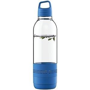 Sylvania SP650-BLUE 2 In 1 Water Bottle Bluetooth Speaker