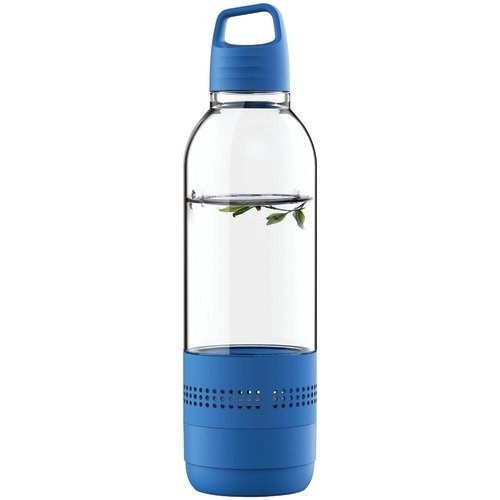 Sylvania SP650-BLUE 2 In 1 Water Bottle Bluetooth Speaker
