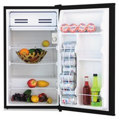 Alera RF333B 3.3 Cu. Ft. Refrigerator With Chiller Compartment, Black