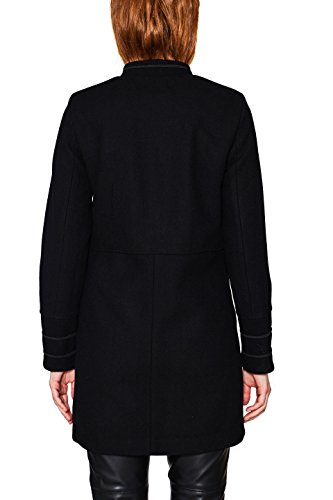 Esprit edc Black Manteau by Noir 001 Femme vTwqST5