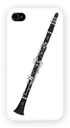 Clarinet, iPhone 4 4S, Etui de téléphone mobile - encre brillant impression