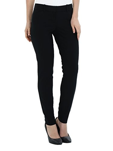 - YTUIEKY Womens Dress Pants, Casual Slim Fit Super Stretch Comfy Skinny Career Straight Fit Trouser Leg Pants Black