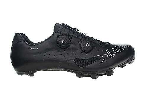 Lake MX237 Mountain Bike Shoe - Wide - Mens Black/Black, ...