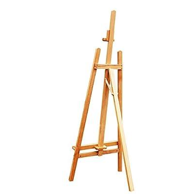 RFJJAL Oil Painting Easel Lifting Wood Sketching Easel Wooden Display Rack Drawing Board