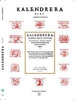 Kalendrera (1571) (Euskera) Tapa blanda – 1 ene 2009 Joanes Leizarraga Euskaltzaindia 8495438542 Ficción ClÁsica