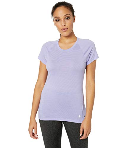 SmartWool Women's Merino 150 Baselayer Pattern Short Sleeve Cascade Purple Large ()