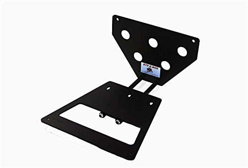 Big Mike's 2010-2012 Mustang Shelby GT500 Sto N Sho Removeable License Bracket
