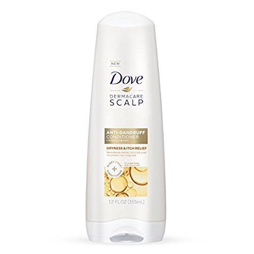 Dove Dermacare Scapl Anti-Dandruff Conditioner, Dryness & Itch Relief, 12 fl oz (Pack of 2)