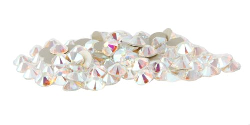 - SS20 Swarovski Rhinestones - Crystal AB (1 Gross = 144 pieces)
