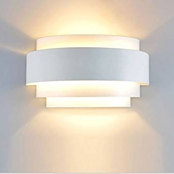 Lampop Lampada da Parete Moderna Applique da Parete Interno LED 5W ...