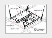Peerless Industries, Inc Peerless 2 Pieces Suspended Ceiling Mount Kit - 250lb from Peerless
