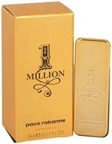 Paco Rabanne 1-Million Eau de Toilette Splash , 0.17 Fl Oz