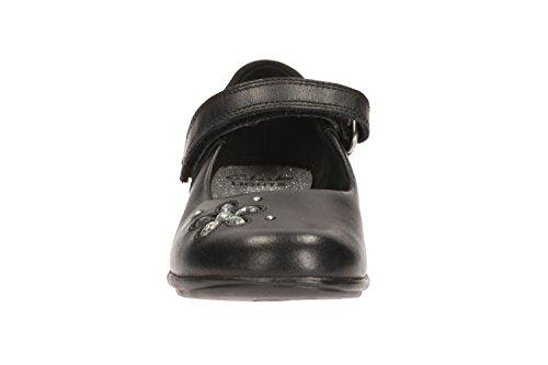 Clarks Trixi Candy Vorschule Mädchen Schuhe Schwarz