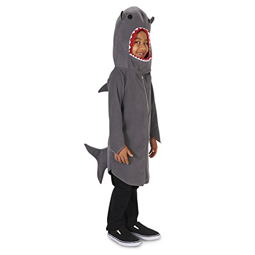 Shark Child Costume S (4-6) (Boy Shark Costume)