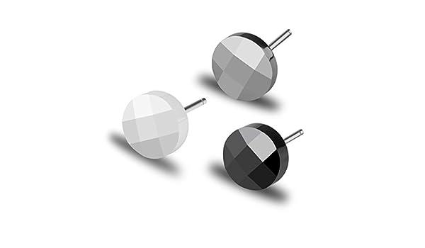 cd5e4889b Amazon.com: Korean version of men's tungsten gold Stud Earrings/ only small  Stud Earrings/ fashion earrings accessory-B: Jewelry