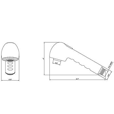 Dura Faucet DF-RK800-VB RV Kitchen Faucet Pull-Out Sprayer Replacement (Venetian Bronze): Automotive